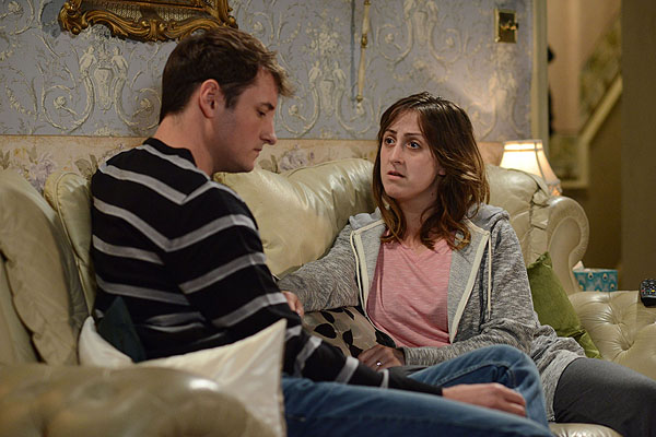 Martin Fowler makes his dramatic return to Albert Square to try and salvage his marriage to Sonia [BBC]