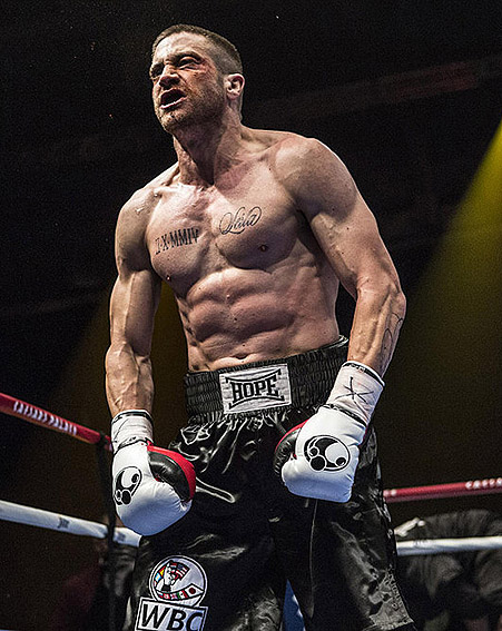 Jake Gyllenhaal is almost unrecognisable after piling on the muscle for a new film role