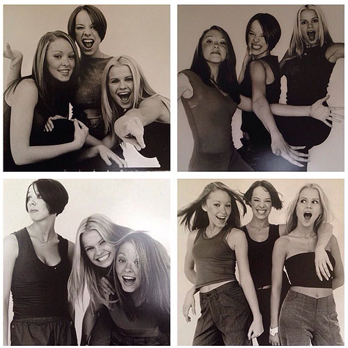Natasha Hamilton reflected on her time with the girls with this throwback snap [Twitter]