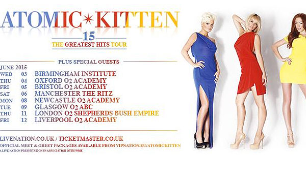 Atomic Kitten are also doing dates in Australia and Germany [Twitter]