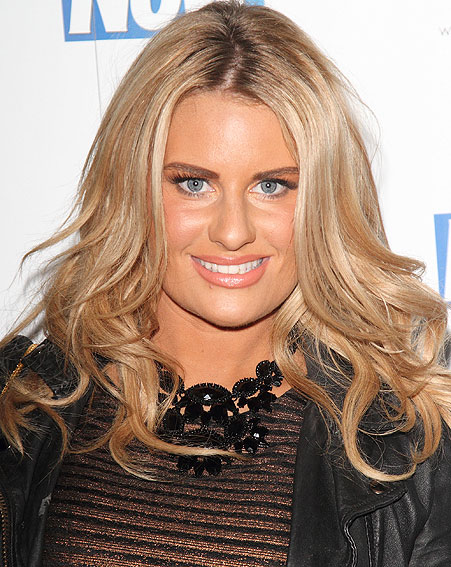 Danielle Armstrong has admitted she was banned from driving after getting 12 points on her license [Wenn]