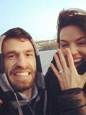 Kelvin Fletcher has finally asked his girlfriend of eight years to marry him [Instagram/LittlePintSize]