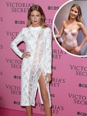 Millie Mackintosh Victoria's Secret Fashion Show 2014 [Splash/Instagram]