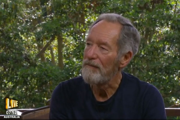 Michael Buerk is voted out of the jungle [ITV]