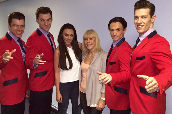 I granted my mum her dream birthday wish by taking her backstage to meet the Jersey Boys [Michelle Heaton]