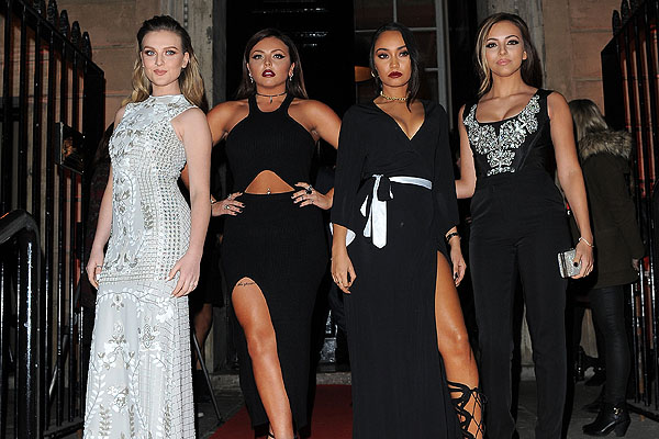 Little Mix spoke exclusively to OK! Online last night, where Perrie revealed she was in no rush to marry Zayn [Splash]