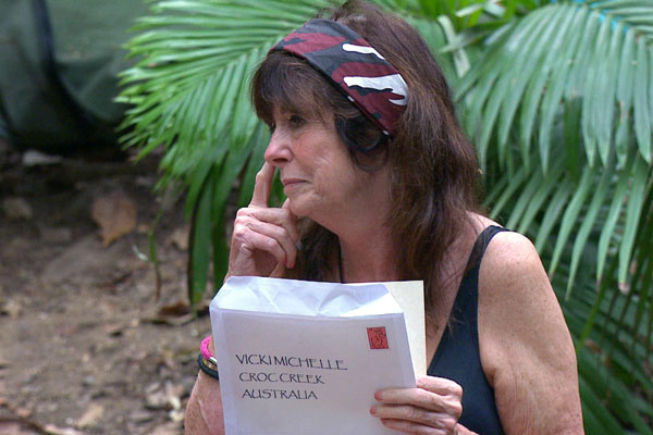Vicki Michelle is the fourth celebrity voted out of the jungle [ITV]