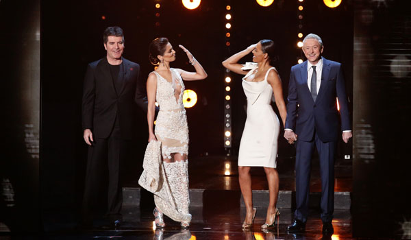 Simon Cowell told his acts to 'stop liking each other' [ITV/Syco]