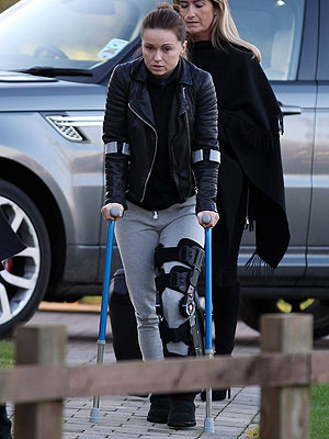Ola Jordan revealed the true extent of her injury in these new pictures [Flynet]
